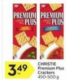 Christie Premium Plus Crackers - 450/500 g