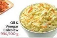 Oil & Vinegar Coleslaw