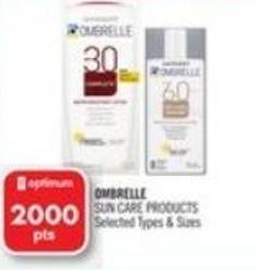 Ombrelle  Ombrelle Sun Care Products