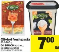 Olivieri Fresh Pasta - 500-700 G Or Sauce - 600 Ml