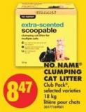 No Name Clumping Cat Litter - 18 Kg