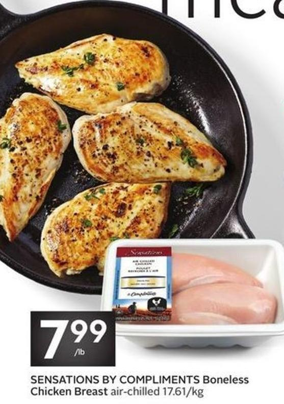 Sensations By Compliments Boneless Chicken Breast