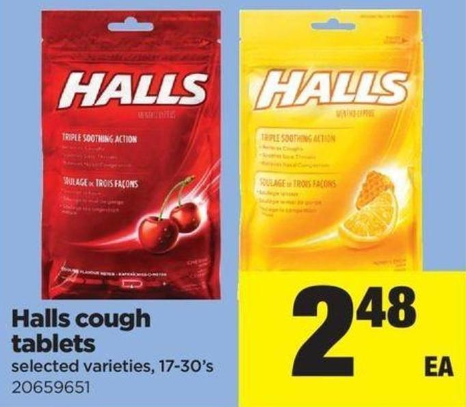 Halls Cough Tablets - 17-30's