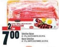 Selection Bacon 65 - 375 g