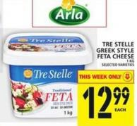 Tre Stelle Greek Style Feta Cheese