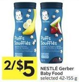 Nestlé Gerber Baby Food Selected 42-155 g