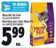 Meow Mix Cat Food