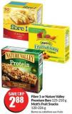 Fibre 1 or Nature Valley Premium Bars 125-210 g Mott's Fruit Snacks 120-226 g
