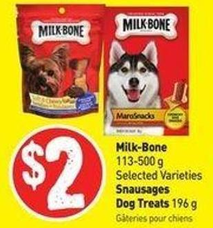 Milk-bone 113-500 g Selected Varieties Snausages Dog Treats 196 g