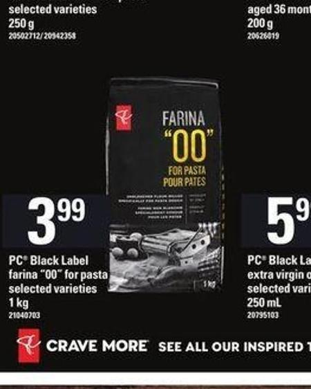"PC Black Label Farina ""00in For Pasta - 1 Kg"