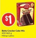 Betty Crocker Cake Mix 432-461 g