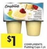 Compliments Pudding Cups