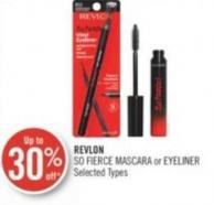 Revlon So Fierce Mascara or Eyeliner