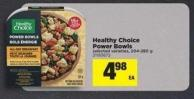 Healthy Choice Power Bowls - 204-280 g