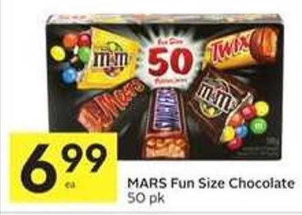 Mars Fun Size Chocolate
