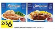 Swanson Frozen Dinners Selected 280-383 g