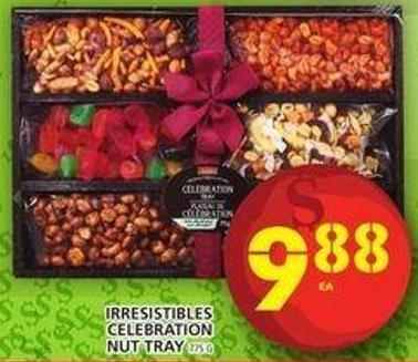Irresistibles Celebration Nut Tray