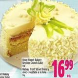 Front Street Bakery Keylime Crunch Cake