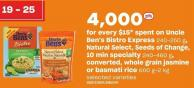 Uncle Ben's Bistro Express 240-250 g - Natural Select - Seeds Of Change - 10 Min Specialty 240-460 g - Converted - Whole Grain Jasmine Or Basmati Rice 600 G-2 Kg