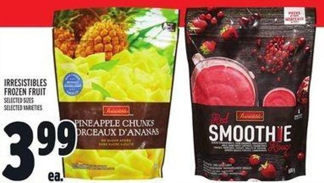 Irresistibles Frozen Fruit