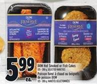 Dom Hot Smoked Or Fish Cakes 125 - 280 g