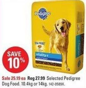 Selected Pedigree Dog Food
