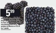 Family Size Blueberries 510 G Or Blackberries 340 G