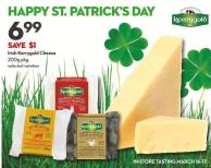 Irish Kerrygold Cheese 200g