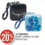 Lip Smackers Disney or Marvel Lip Cube