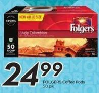 Folgers Coffee Pods