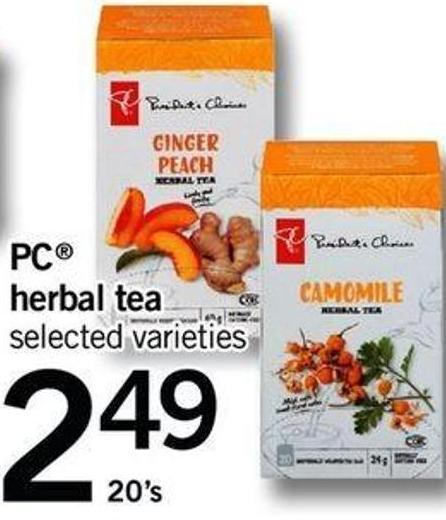 PC Herbal Tea - 20's