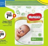 Huggies Natural Care Baby Wipes 184 Pk