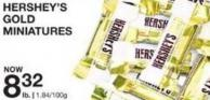 Hershey's Gold Miniatures
