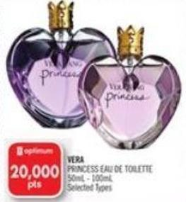 Vera Princess Eau De Toilette 500ml - 100ml