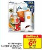 Glade Pluglns Scented Oil Warmer