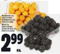 Blackberries 170 G Product Of Mexico Goldenberries 200 G Product Of Colombia