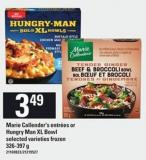 Marie Callender's Entrées Or Hungry Man Xl Bowl - 326-397 G