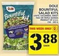 Dole Bountiful Salad Kits