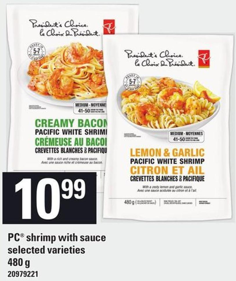 PC Shrimp With Sauce - 480 g