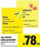No Name Jelly Powder - 85 g