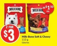 Milk-bone Soft & Chewy ( 113 G)