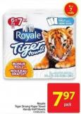 Royale Tiger Strong Paper Towel Handy Half Sheets