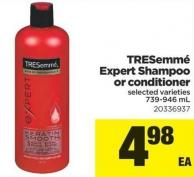 Tresemmé Expert Shampoo Or Conditioner - 739-946 mL