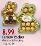 Ferrero Rocher Chocolate Rabbit - Eggs 142g - 162.5g