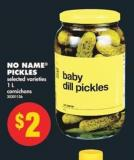 No Name Pickles - 1 L