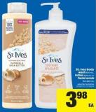 St. Ives Body Wash - 650 Ml - Lotion - 600 Ml Or Facial Scrub - 150-300 Ml