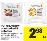 PC Red - Yellow Or Mixed Mini Potatoes - 680 g