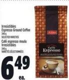 Irresistibles Espresso Ground Coffee