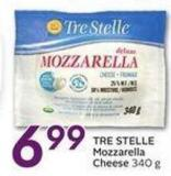 Tre Stelle Mozzarella Cheese - 340 g