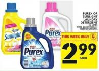 Purex Or Sunlight Laundry Detergent